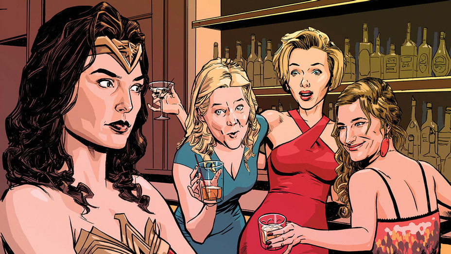 Hollywood Women Glamorizing Drinking - Illustration - H 2017