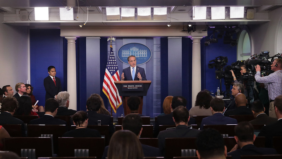 White House Briefing Room - Getty - H 2017