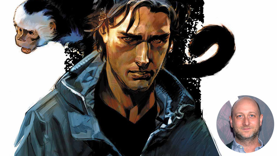Y the last man cover key art and inset of michael green - Getty-H 2017