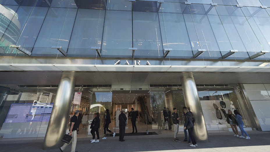 Zara Storefront - Getty - H 2017