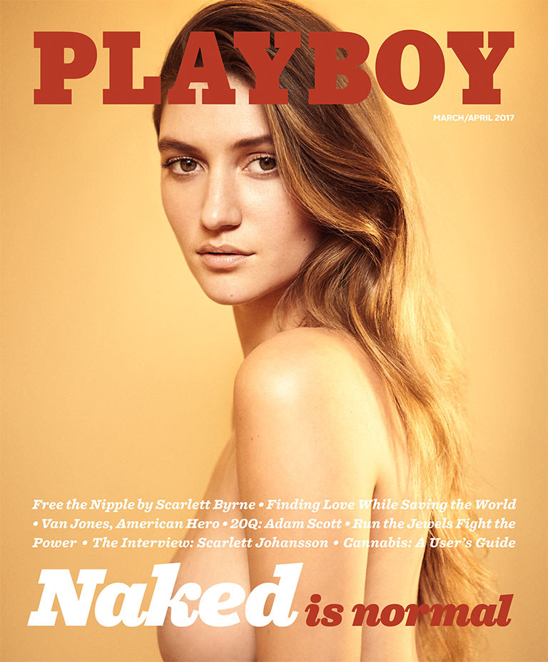 Playboy March Cover - Publicity - Embed 2017