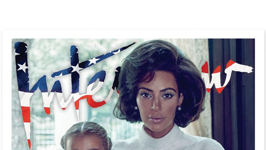 Interview Magazine Kim Kardashian Cover - Publicity - P 2017