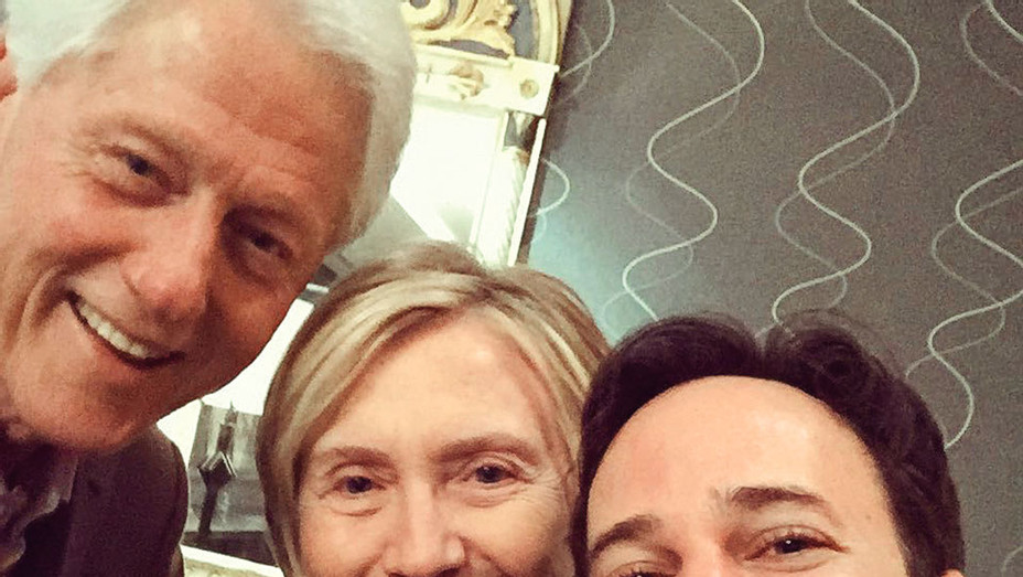 Danny Strong and Clintons-Rebel in the Rye screening  - SQ 2017