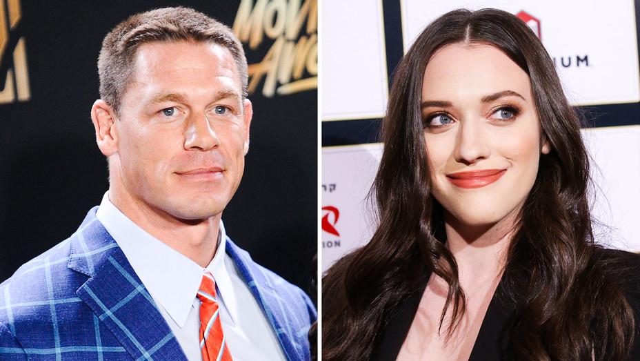 John Cena and Kat Dennings - Split - Getty - H 2017