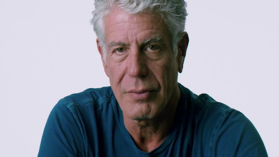 Anthony Bourdain - Wasted The Story of Food Waste Trailer Still - H 2017