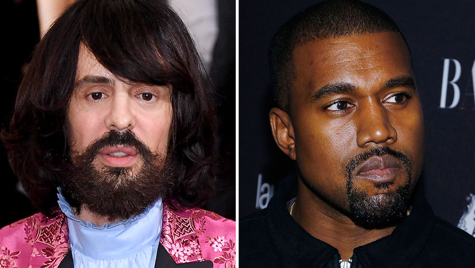 alessandro michele and kanye west -Split-H 2017