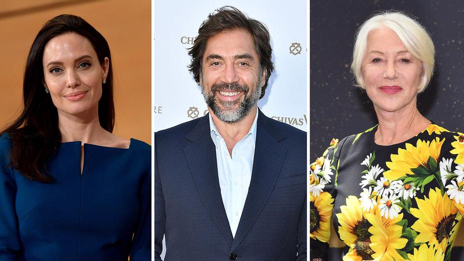 Angelina Jolie, Javier Bardem and Helen Mirren_Split - Publicity - H 2017