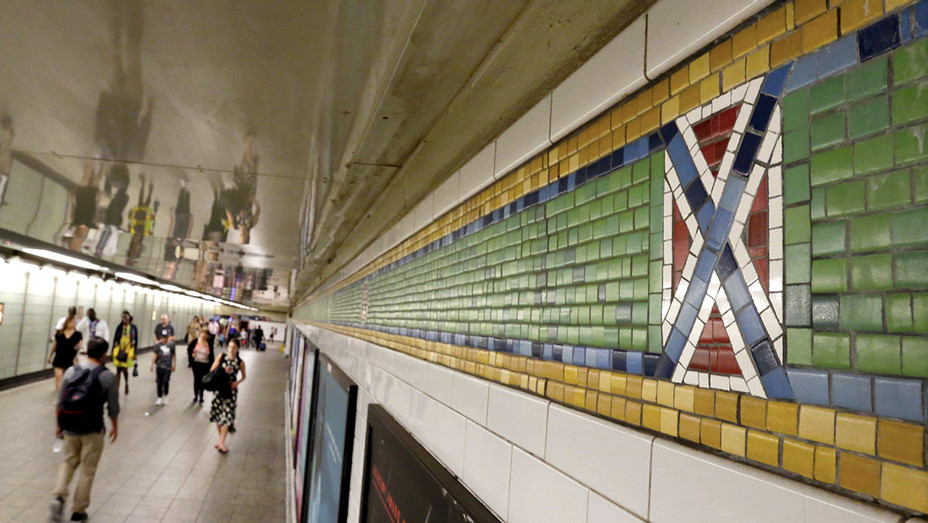 NY Subway Station Times Square's-Crossroads of the World - AP -One TIME USE ONLY -H 2017
