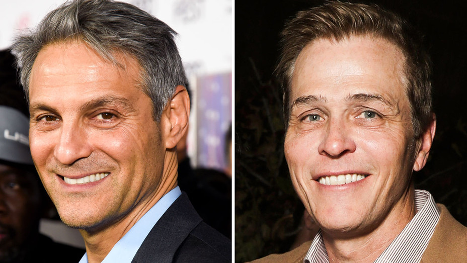 Ari Emanuel and Patrick Whitesell - Split - Getty - H 2017