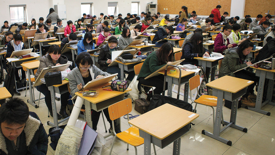 Beijing Film Academy Entrance Exam ONE TIME USE - Getty - H 2017