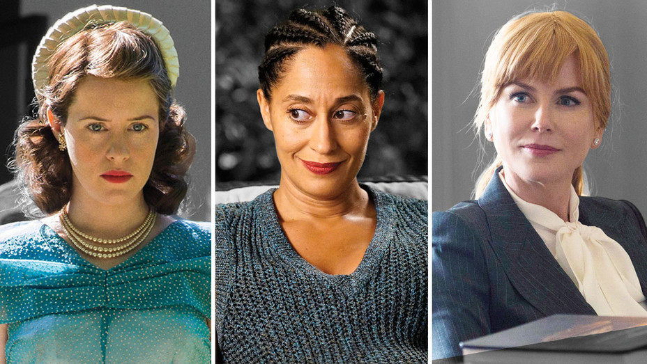 Claire Foy, Tracee Ellis Ross and Nicole Kidman - Publicity - H 2017