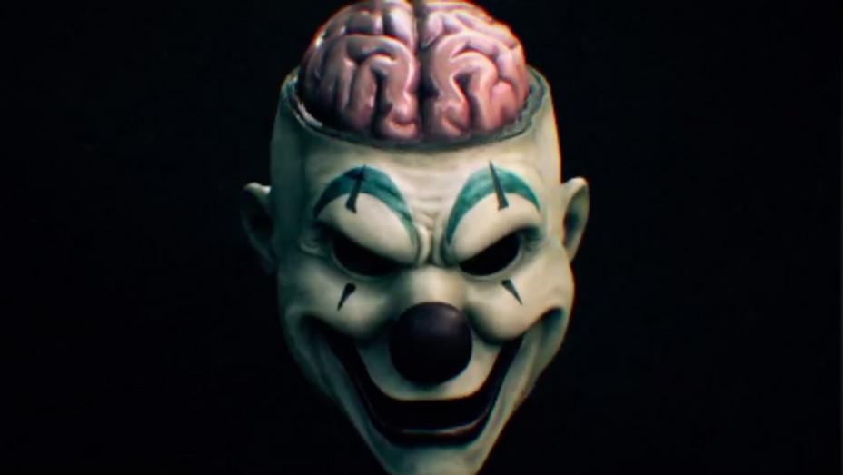AHS cult clown mask grab 4 - H
