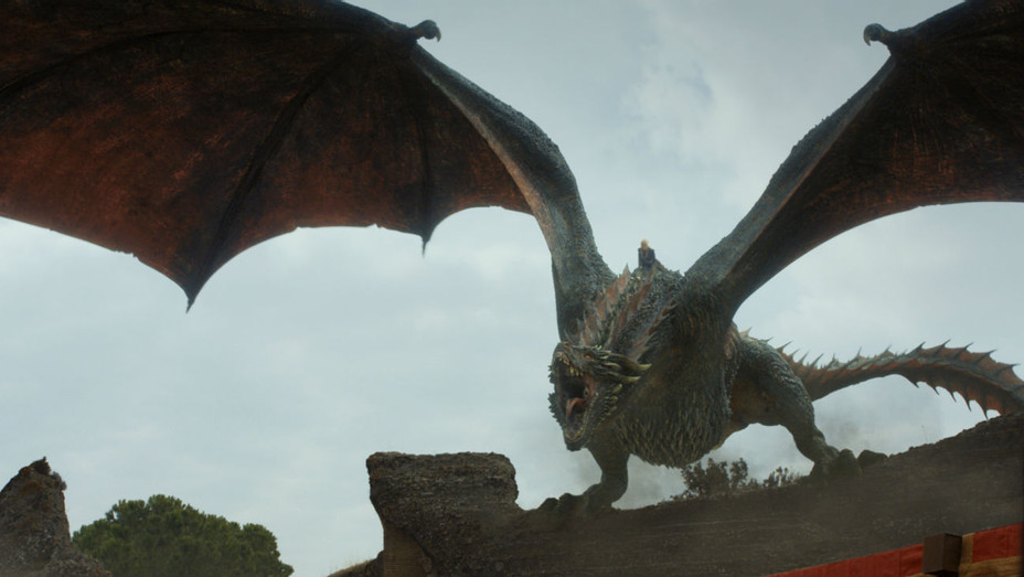 'Game of Thrones' S07E07 Daenerys Dragon - Still - H 2017