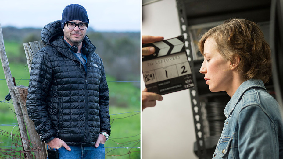 Damon Lindelof and Carrie Coon -Publicity-Split-H 2017