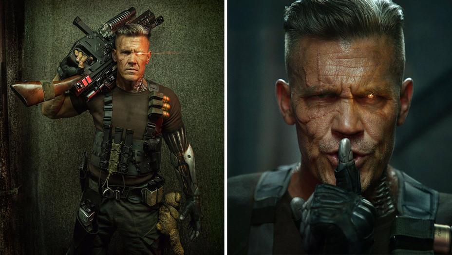 DeadPool 2 -Twitter Ryan Reynolds -Josh Brolin as Cable - Screen shot-H 2017