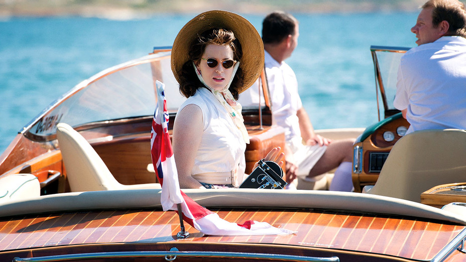 The Crown - Season 1 -Claire Foy- on Simone Boat-Publicity-H 2017