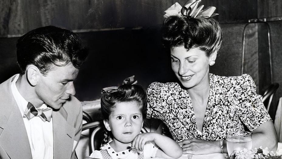 Frank Sinatra, Nancy Jr. and Nancy Sr. at the Stork Club 1944 - Photofest - H 2017