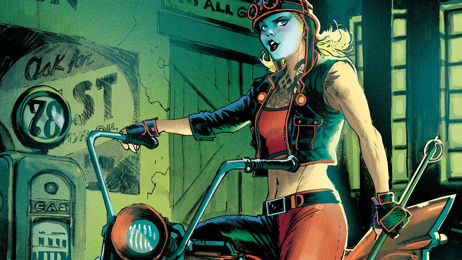 Gotham City Garage Cover - Publicity - H 2017