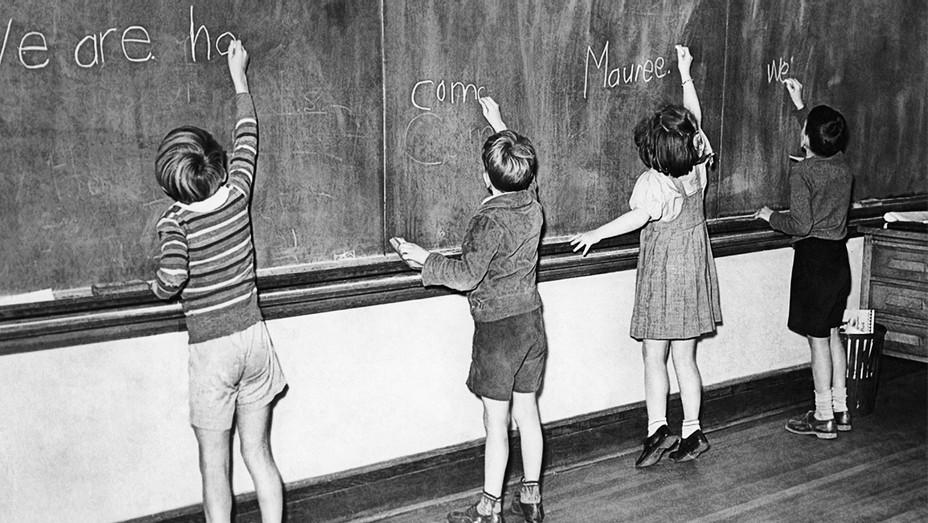 Kids Classroom Chalkboard - Getty - H 2017