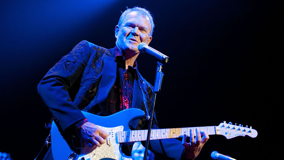 Glen Campbell - onstage as part of his The Goodbye Tour -Getty-H 2017