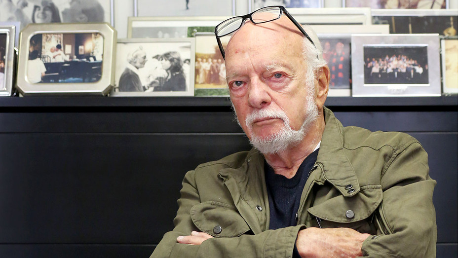 Hal Prince In His Office On July 30, 2015 In New York City - Getty- H 2017