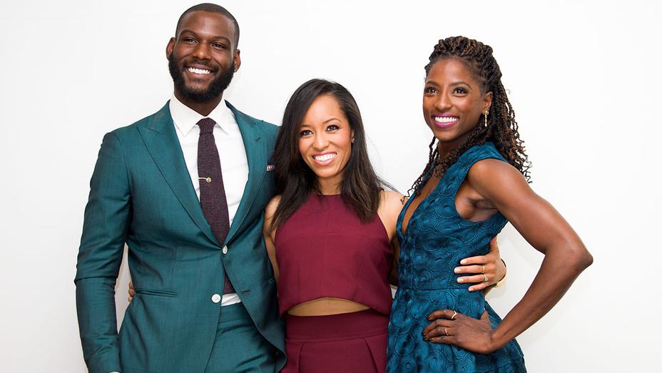 Kofi Siriboe, Dawn?Lyen Gardner and Rutina Wesley - 2016 Queen Sugar Press Conference - Getty - H 2017