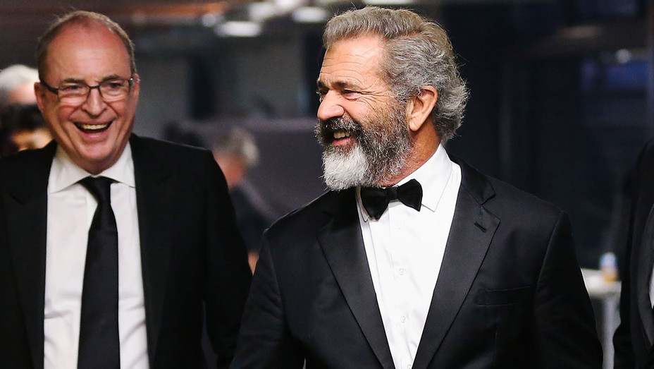 Bruce Davey and Mel Gibson - 2016 6th AACTA Awards - Getty - H 2017