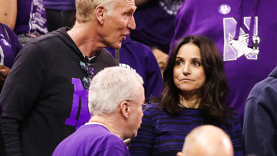 Julia Louis-Dreyfus - Northwestern v Gonzaga Game - Getty - H 2017