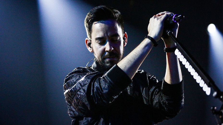 Linkin Park Mike Shinoda - iHeartRadio Music Release Party - Getty - H 2017