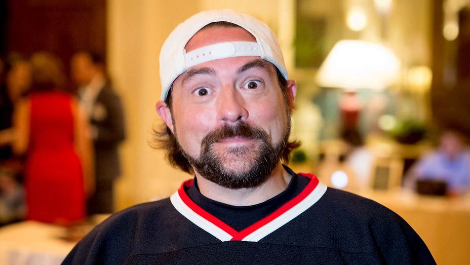 Kevin Smith attends TheGrill Special Event With Charlie Collier Of AMC -Getty- H 2017