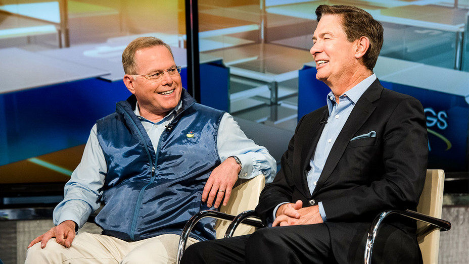 David Zaslav and Ken Lowe - Mornings with Maria Appearance - Getty - H 2017