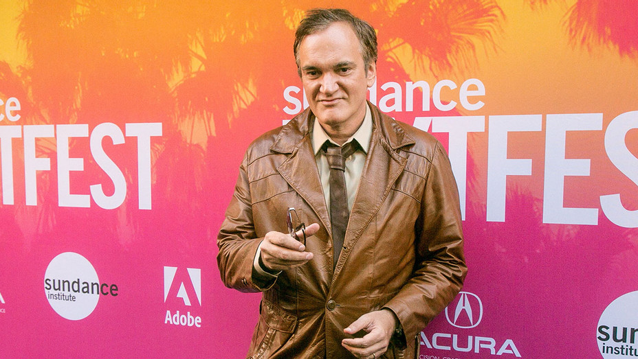 Quentin Tarantino arrives for Sundance NEXT FEST Opening Night - Getty-H 2017