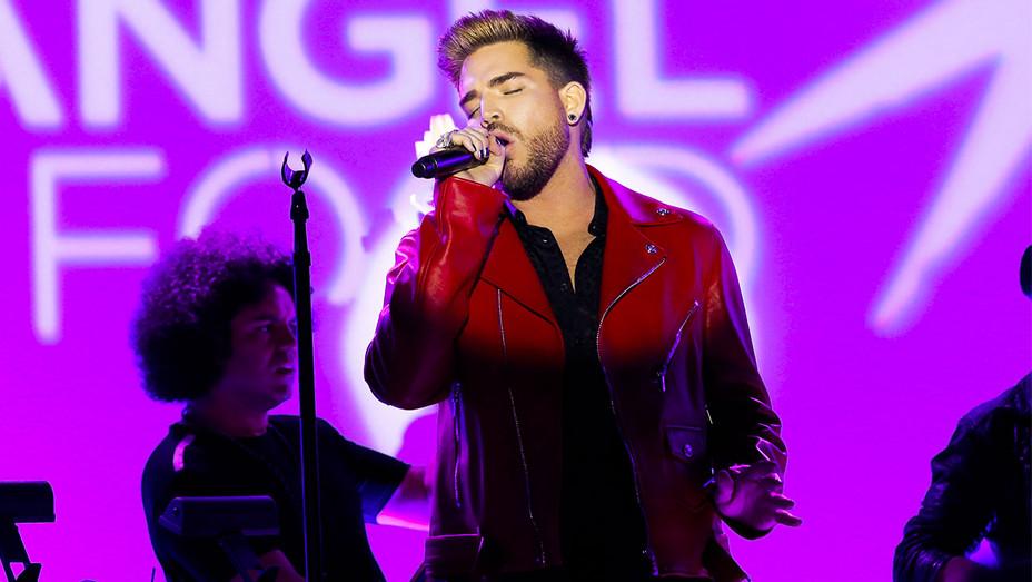 Adam Lambert - Project Angel Food Angel Awards Performance - Getty - H 2017