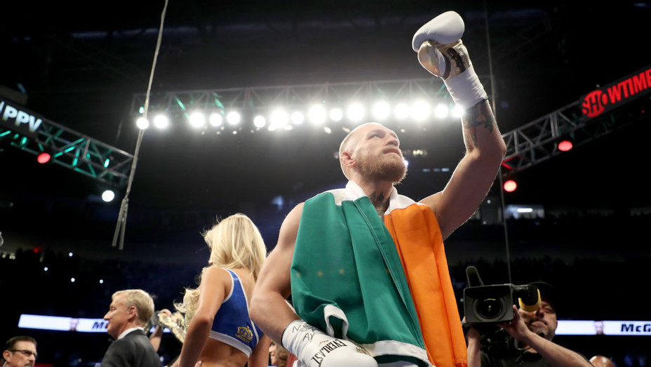 Conor McGregor Walkout - H 2017 Getty