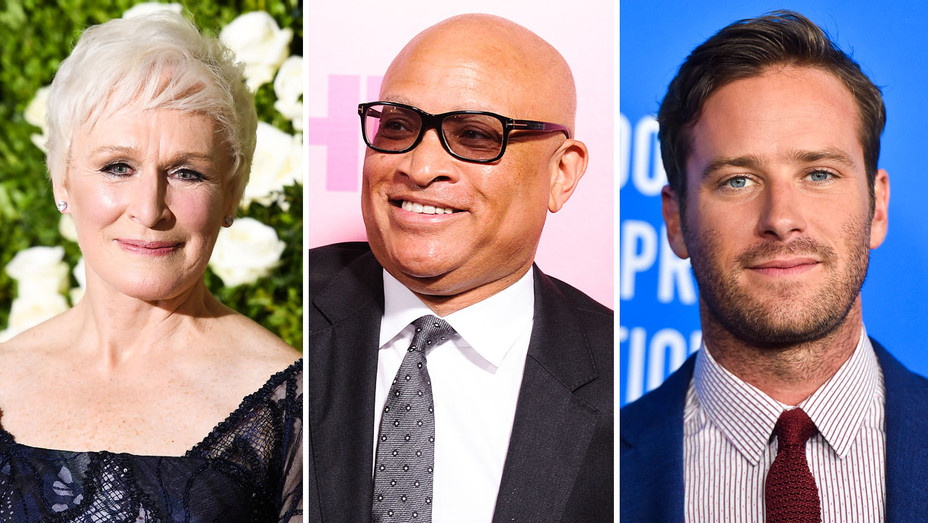 Glenn Close, Larry Wilmore and Armie Hammer - Split - Getty - H 2017