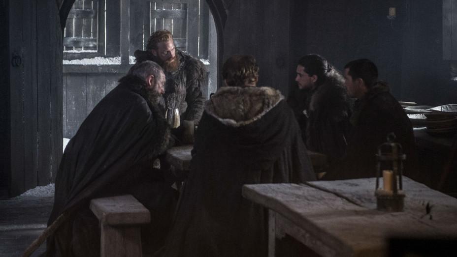 'Game of Thrones' S07E05 Davos, Tormund, Jon Snow, Gendry - Still - H 2017