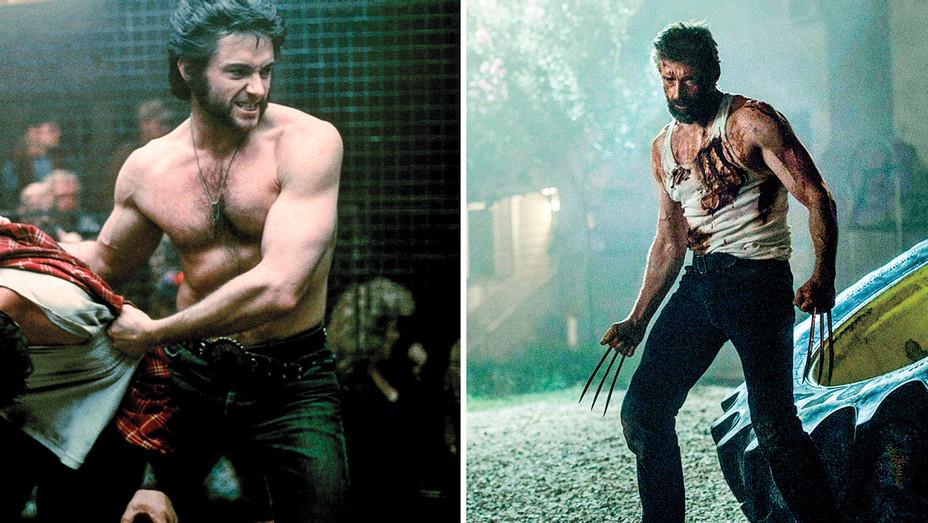 Hugh Jackman_Wolverine_Split - Photofest - H 2017