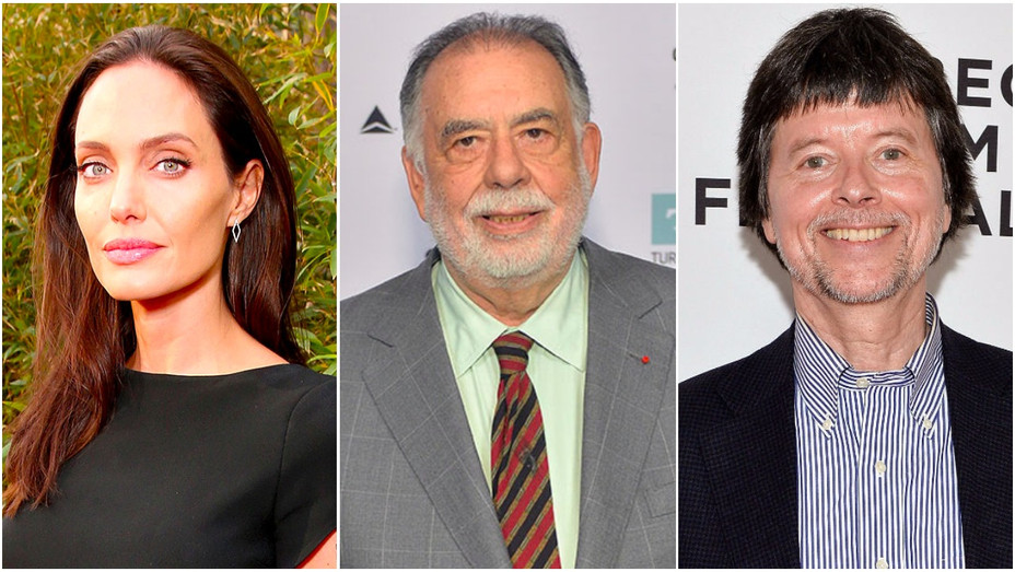 Angelina Jolie, Francis Ford Coppola and Ken Burns Split - Getty - H 2017