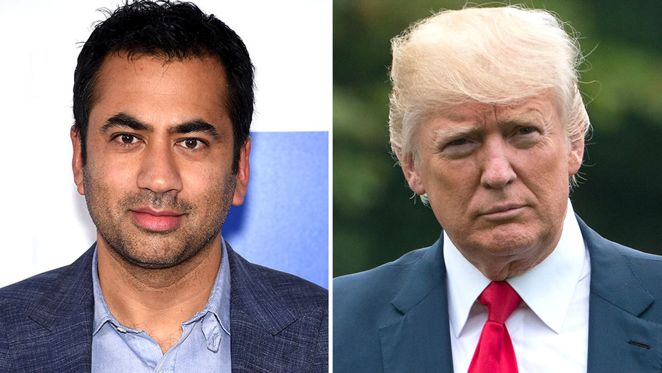 kal penn and donald trump split -Getty-H 2017