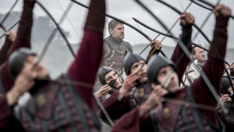 Game of Thrones - Nikolaj Coster-Waldau as Jaime Lannister and Jerome Flynn as Bronn – H Publicity 2017