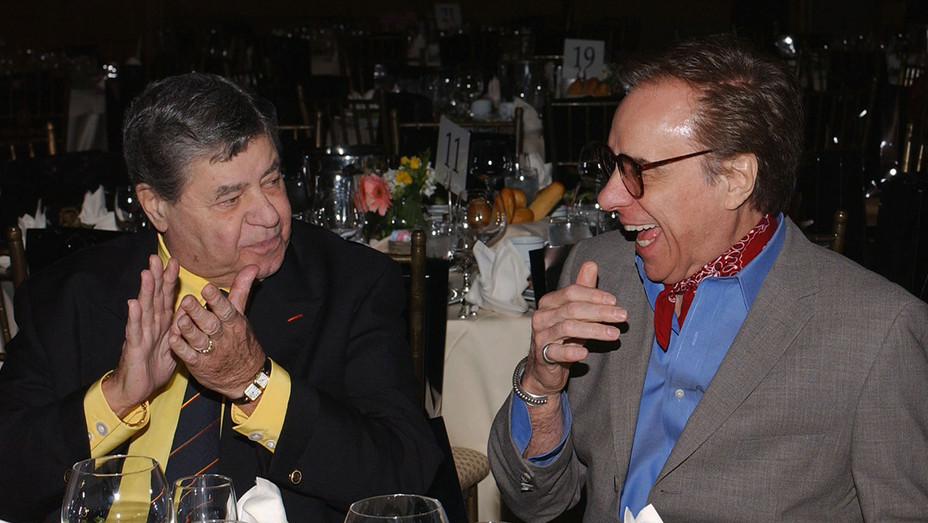 Jerry Lewis Peter Bogdanovich 2005 - H Getty 2017