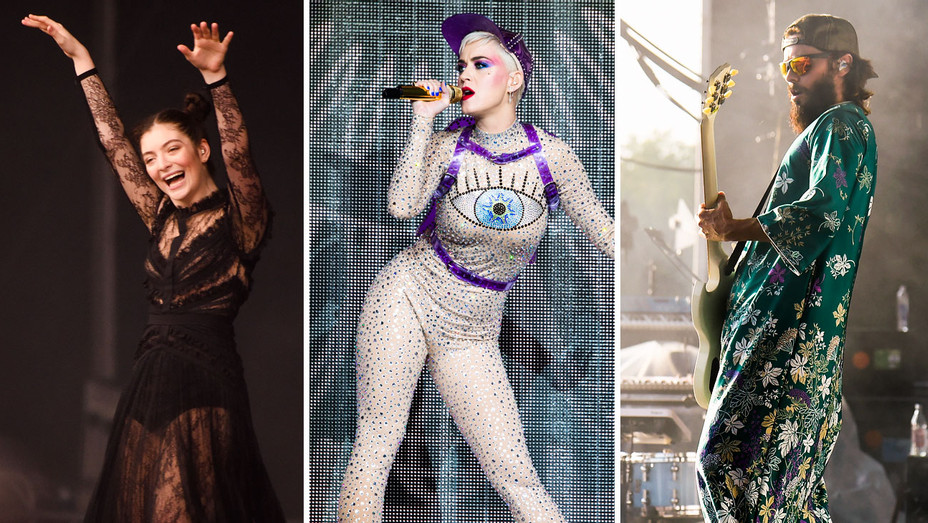 Lorde, Katy Perry and Jared Leto Performance Looks - Split - Getty - H 2017