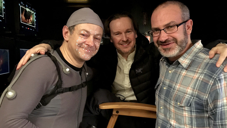 Andy Serkis- Matt Reeves -Mark Bomback - Publicity  -H 2017