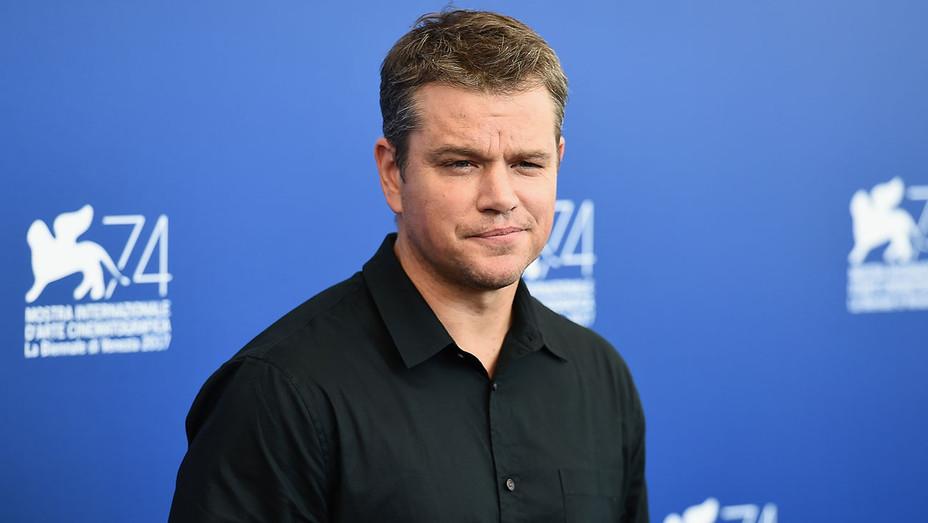 Matt Damon_Venice Film Festival - Getty - H 2017
