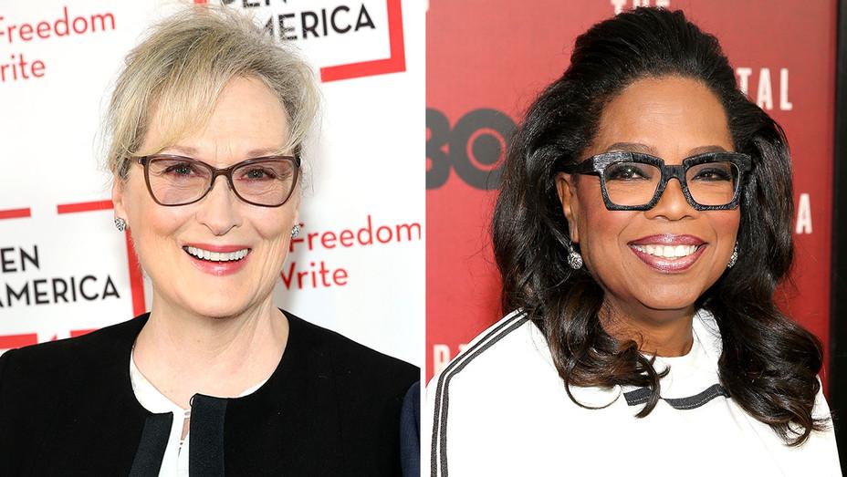 Meryl Streep and Oprah Winfrey -Split-Getty-H 2017