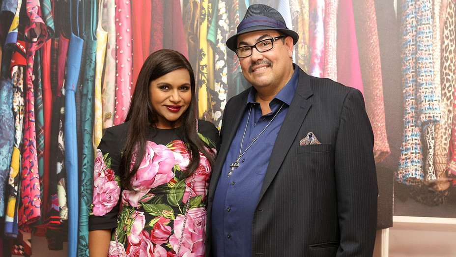 Mindy Project - Mindy Kaling and Salvador Perez- Publicity-H 2017