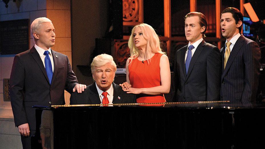 Saturday Night Live Still Donald Trump Skit - Publicity - Embed 2017