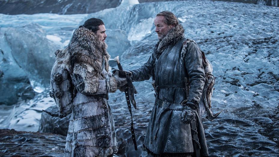 Game of Thrones - Jon Snow and Jorah Mormont - H Publicity 2017
