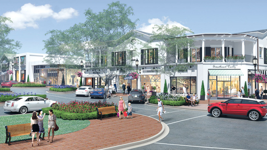 Summer 2018 - Rendering of the Cape Cod-style complex -Publicity-H 2017