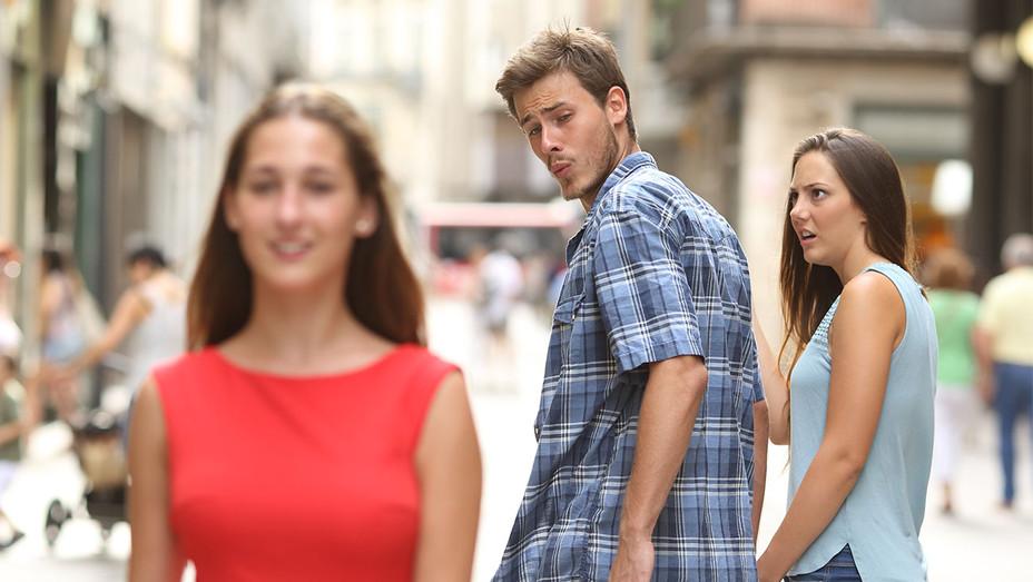 Boyfriend Meme - One Time Use Only - Shutterstock - H 2017